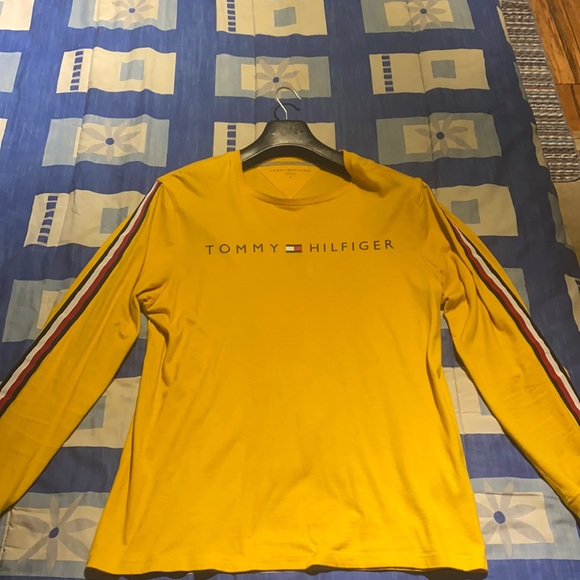 Tommy Hilfiger yellow long sleeve